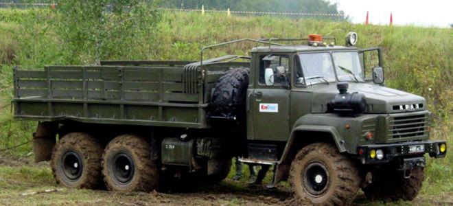 Все о коробке передач на КрАЗ 260