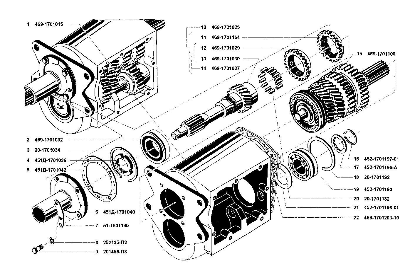Коробка передач коробка уаз схема фото 736
